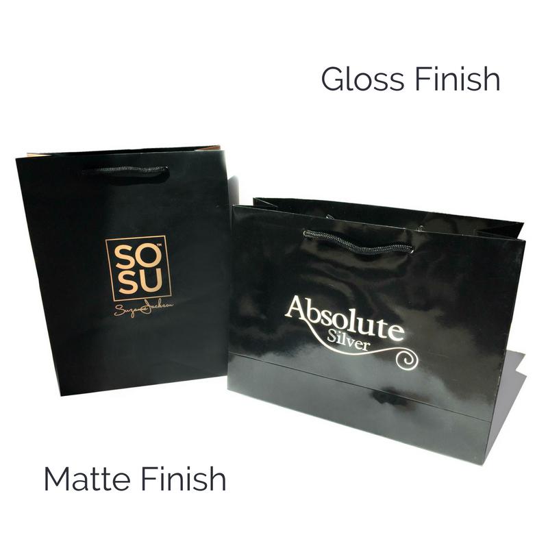 Gloss and Matte Finish
